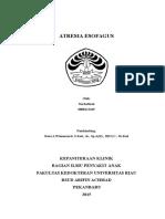 Laporan-kasus Atresia Esofagus