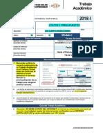Epii-ta-7-Costos y Presupuestos 2018-1 Modulo i - Sección 1
