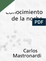 27. Mastronardi Carlos - Conocimiento de La Noche [PDF]