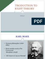 Marxism Theory