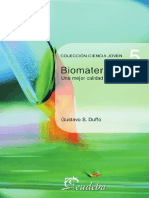 Biomateriales Una Mejor Calidad de Vida