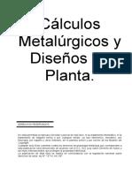 Calculos Metalurgicos y Diseños Planta - Copia (2)