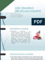 Kelompok 5 Analisis Cemaran Mikroba Dalam Kosmetik