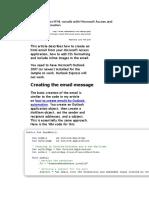 How to Create HTML