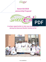 Sweet Eid Sponsorship Proposal 2018