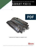 HP P3015 Reman Span