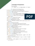 Terminología Prehospitalaria