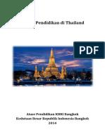 Sistem Pendidikan Di Thailand