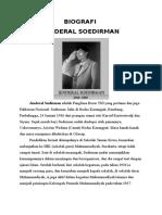 BIOGRAFI JENDRAL SUDIRMAN.docx