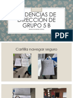 Evidencias de Dirección de Grupo 5 B