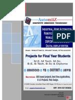 AutomiiZ Diploma Projects 2010