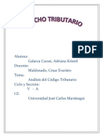 Derecho Tributario- Adriana