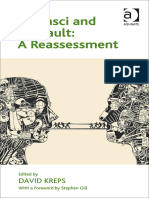 Foucault, Michel; Gramsci, Antonio; Kreps, David Gramsci and Foucault a Reassessment