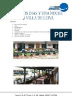 Plan dos días una noche, Villa Deleiva. - shadaysas@gmail
