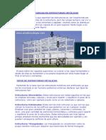 Transmisión de Cargas en Estructuras Metálicas