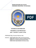 Tarea Sistemas Informacion Gerencial Kenneth C. Laud on Jane P. Laudon