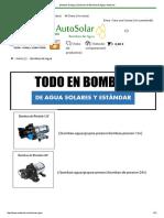 Bombas de Agua _ Sistemas de Bombeo de Agua _ Autosolar