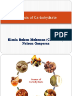 Carbohydrate Analysis (1)