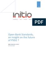 Open Banking Standards the Future of Psd2