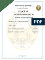 Informe de Fisica III Curvas Equiponteciales