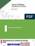Audiencia Publica Central Hidroelectrica Quimbo
