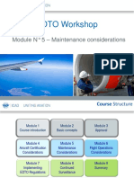 EDTO Module 5 –Maintenance Considerations