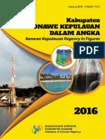 Konawe Kepulauan Dalam Angka 2016
