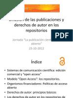 Taller Madrono OA Derechos Autor 2012
