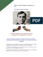 Aristides de Sousa Mendes - O Mito