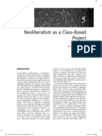 Neil Davidson - Neoliberalism as a Class-Based Project
