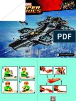 Instructions the Shield Helicarrier - Lego