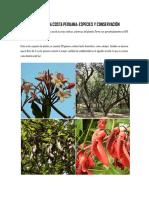 La Flora de La Costa Peruana