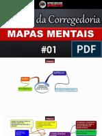 Normas Da Corregedoria Em Mapas Mentais - Parte 01
