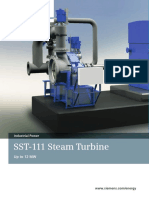 Sst 111 Steam Turbine e