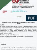 Problemas Eticos Morales
