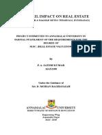 Satish Project Report-m Sc
