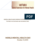 World Mental Health Day 2010 - WFMH - KAMHA.ORG