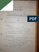 Anotações de sistemas de potência