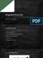 Argumentación e Inferencia