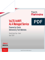 Deploying end-to-end VoLTE and VoWiFi solution with Oracle Communications IMS + Demo