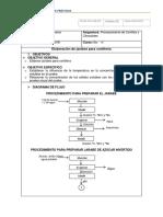 PREINFORME 1 Elaboración de Jarabes Para Confitería