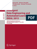 Intelligent Data Engineering and Automated Learning IDEAL 2015 16th International Conference Wroclaw Poland October 14-16-2015 Proceedings