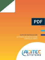 Aiditec Guia Instalacion Sistemas Proteccion Contra El Rayo GT 2015 ES 548KB