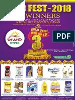 Grand Hyper Promotion Gold Fest 2018