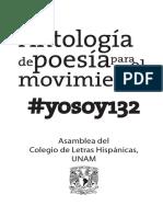 Antología de poesía para el movimiento #yososy132