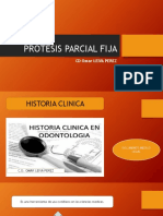 Protesis Parcial Fija - Hcl Ley de Ante