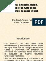 Fracturas de Radio
