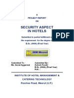 001 SecurityAspectIn5StarHotels 4 Meerut