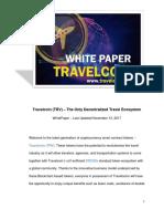Travelcoin ICO WhitePaper 2017