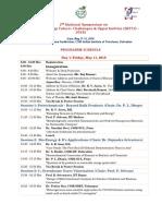 Programme Schedule SEFCO 2018 VA